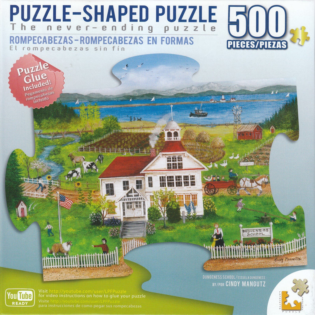 Dungeness School 500 Piece Shaped Puzzle