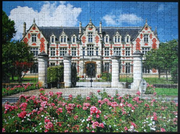 Colorluxe 500 Piece Puzzle - Wine Cellar Chateau Cantenac-Brown, France