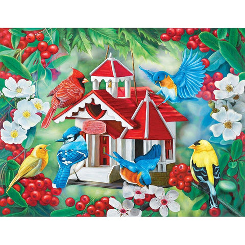 Puzzle Collector Art 500 Piece Puzzle - Friendly Neighbors