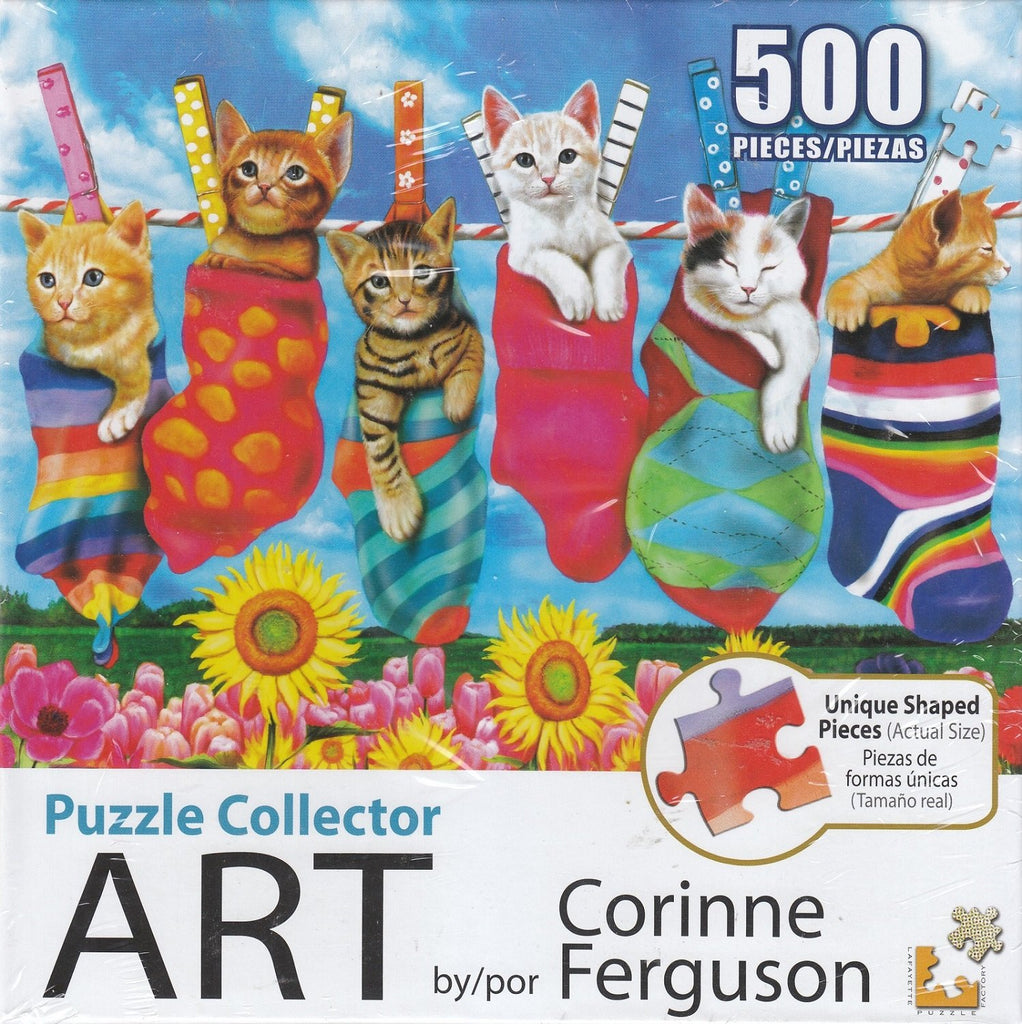 Puzzle Collector Art 500 Piece Puzzle - Hanging Out