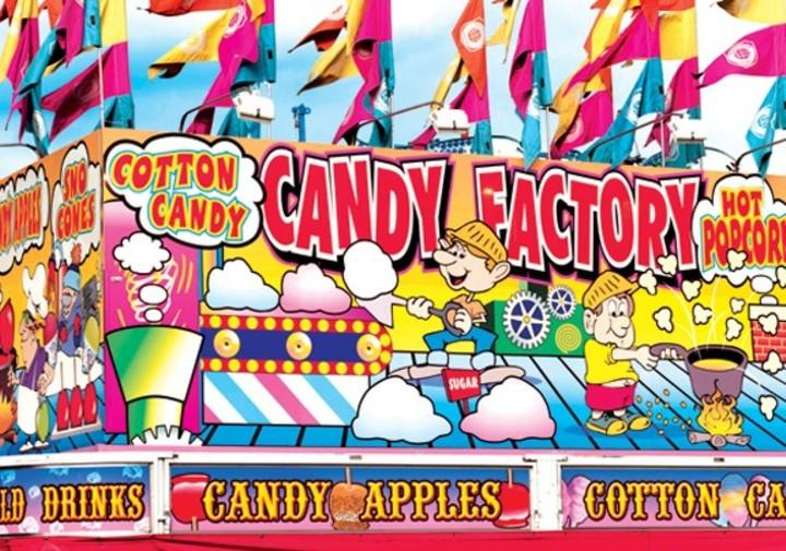 Colorluxe 1500 Piece Puzzle - Candy Factory Fairground Concession Stand