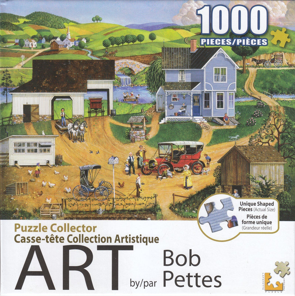 Puzzle Collector Art 1000 Piece Puzzle - Stay For Dinner
