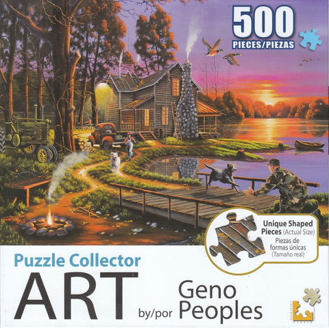 Puzzle Collector Art 500 Piece Puzzle - An Early Surprise