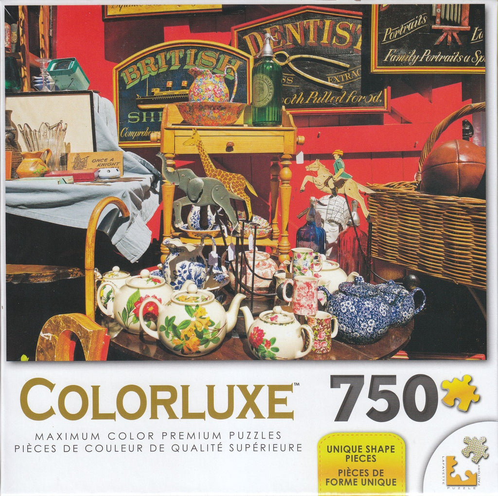 Colorluxe 750  Piece Puzzle - Antiques