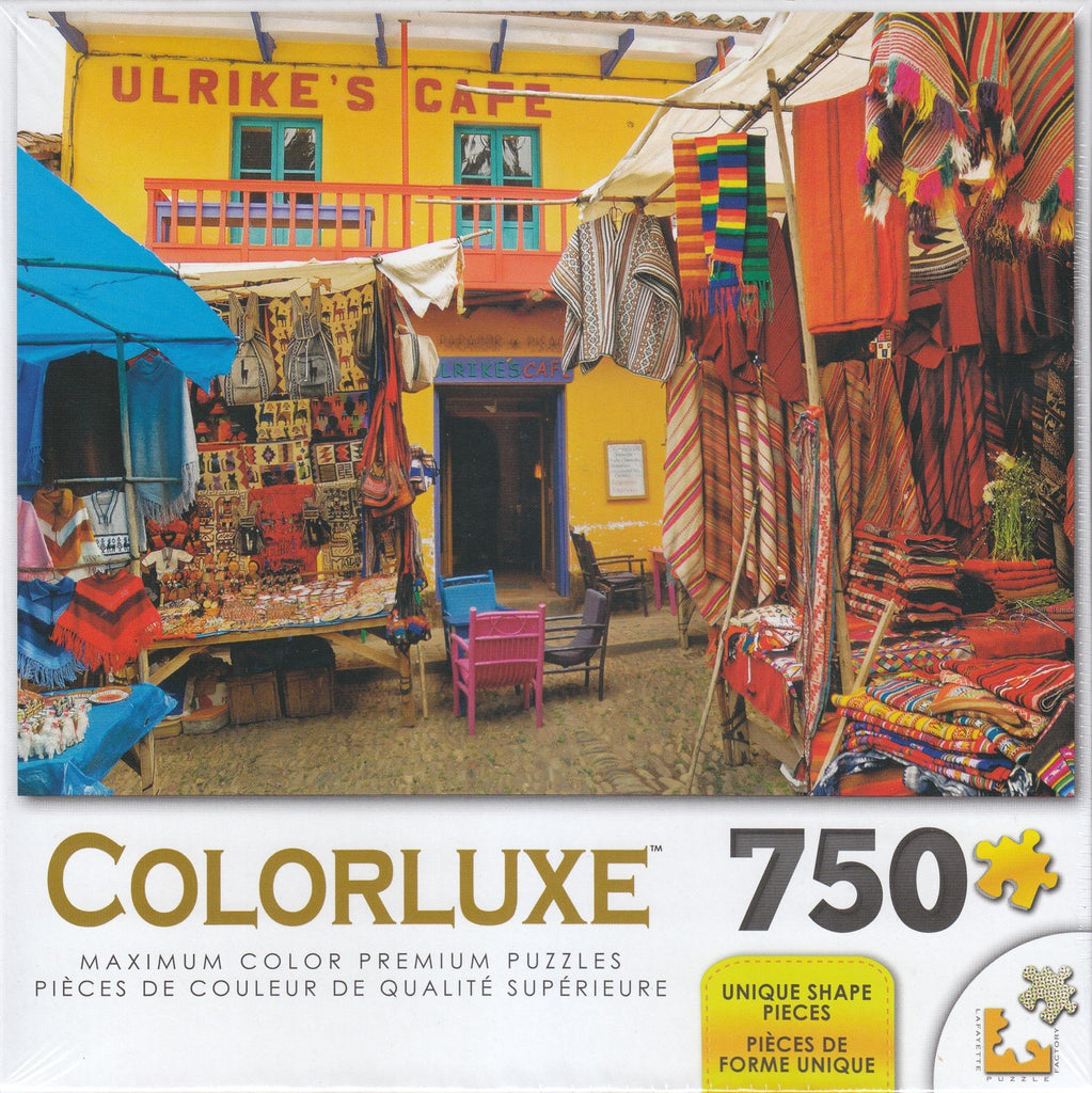 Colorluxe 750  Piece Puzzle - Colorful