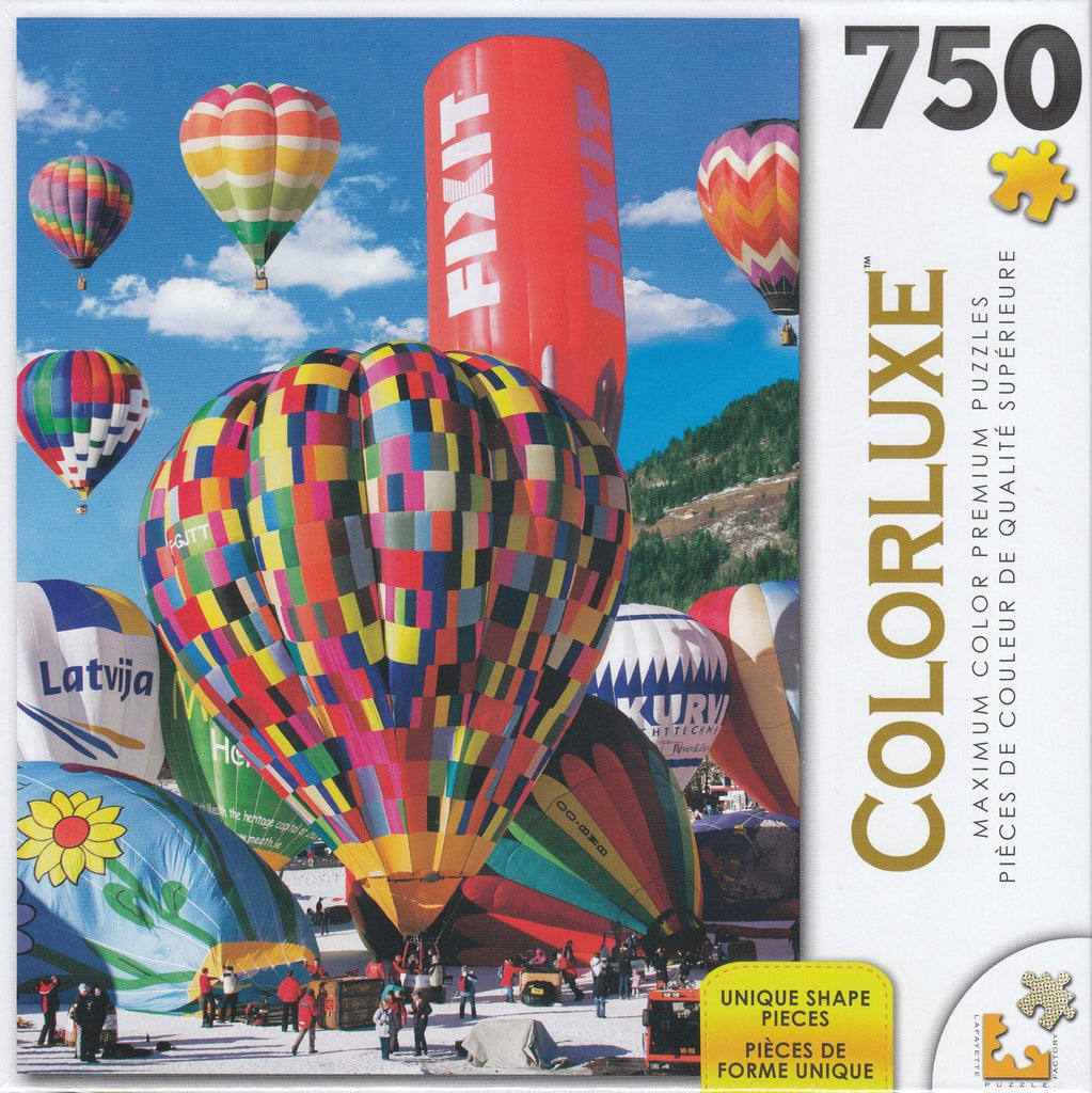 Colorluxe 750  Piece Puzzle - Chateau d'Oex International Bal