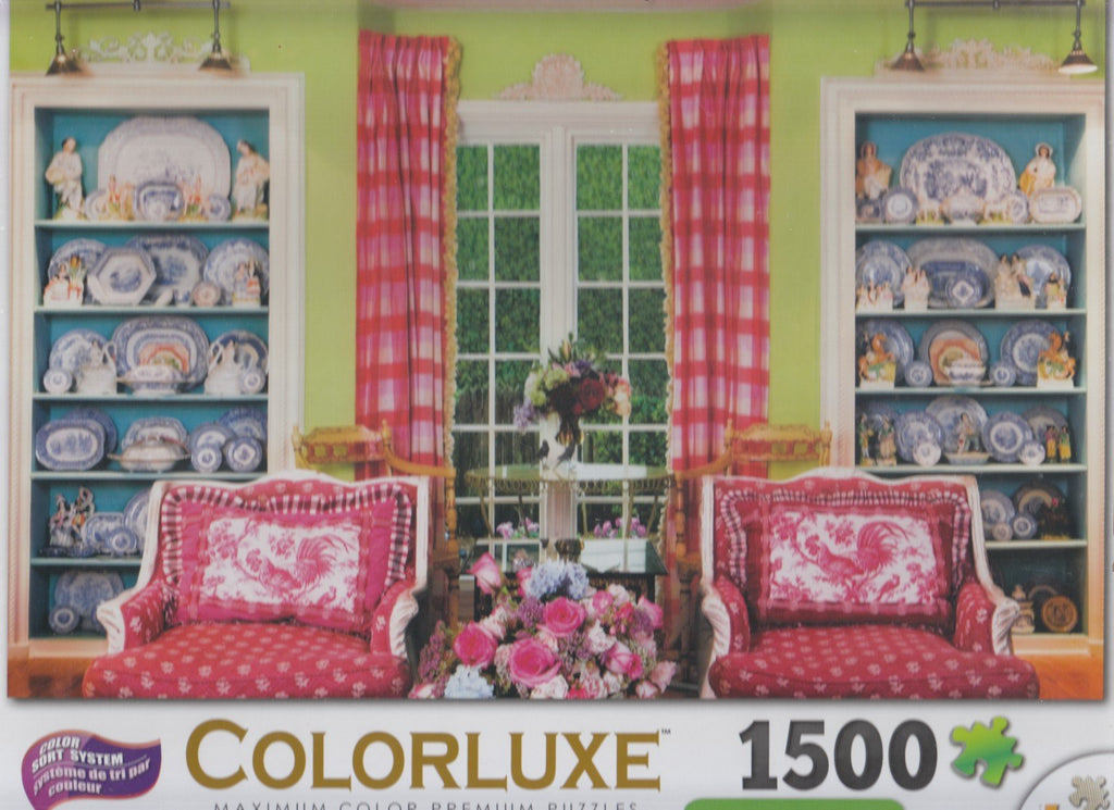 Colorluxe 1500 Piece Puzzle - Living Room