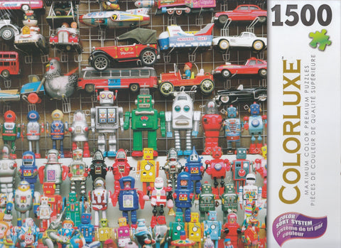 Colorluxe 1500 Piece Puzzle - Tin Toys For Sale