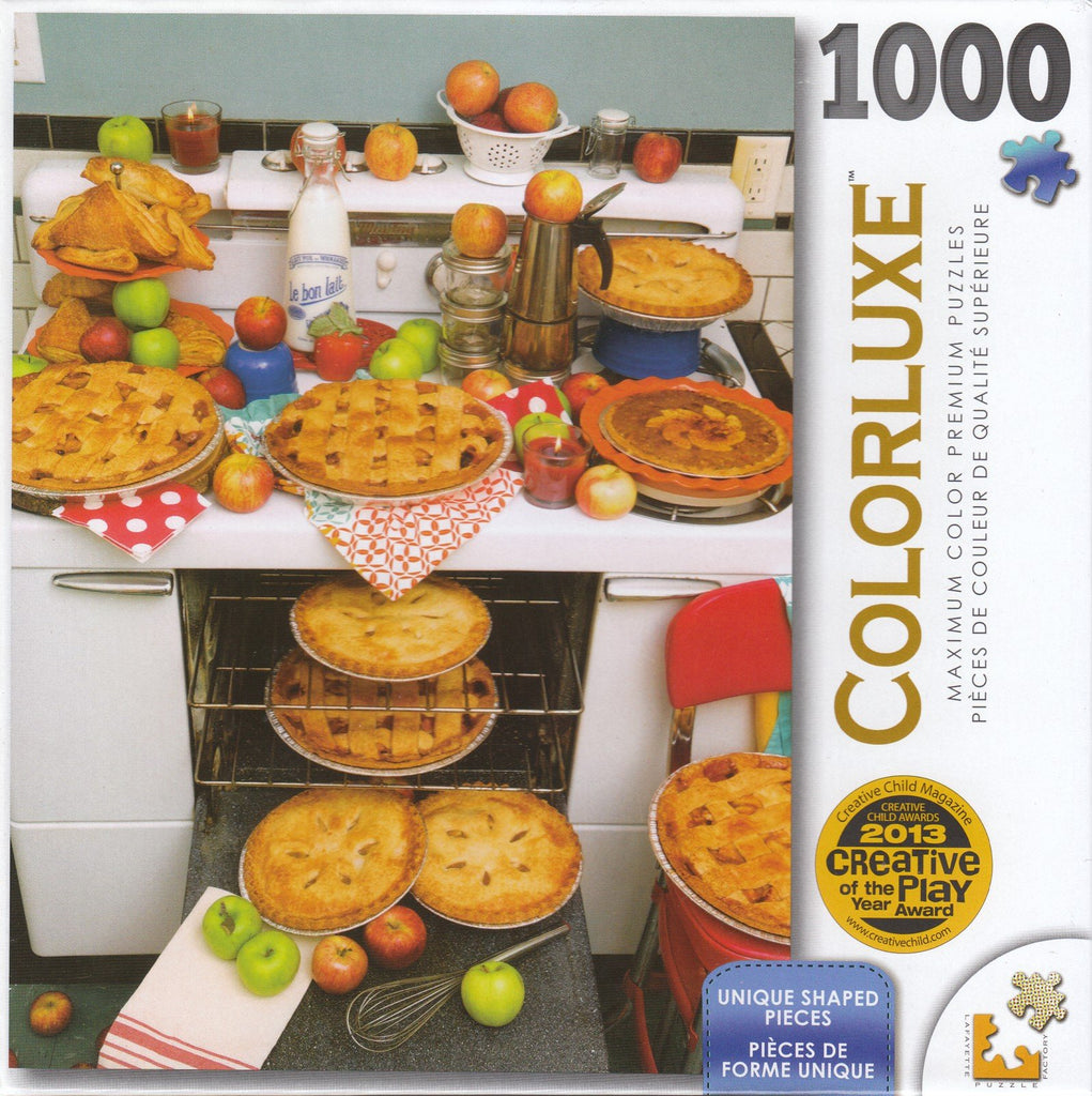 Colorluxe 1000 Piece Puzzle - Kitchen Pies