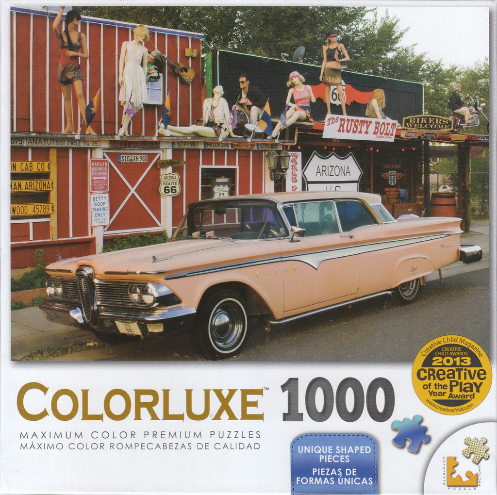 Colorluxe 1000 Piece Puzzle - Route 66 Gift Shop