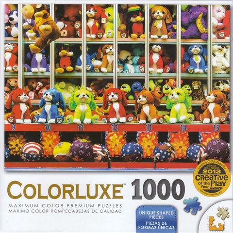 Colorluxe 1000 Piece Puzzle - Carnival Game