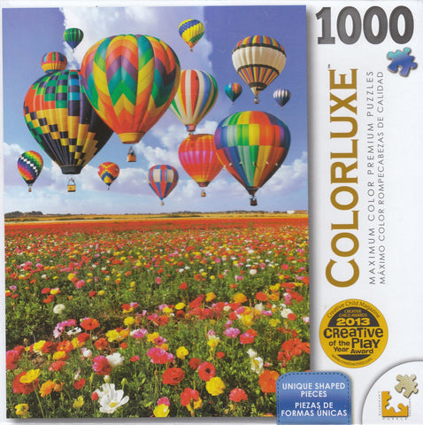 Colorluxe 1000 Piece Puzzle - Colorful Balloons