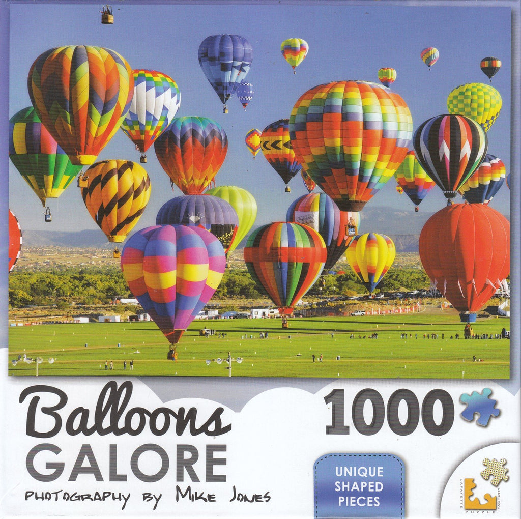 Balloons Galore 1000 Piece Puzzle - Balloons Take Flight