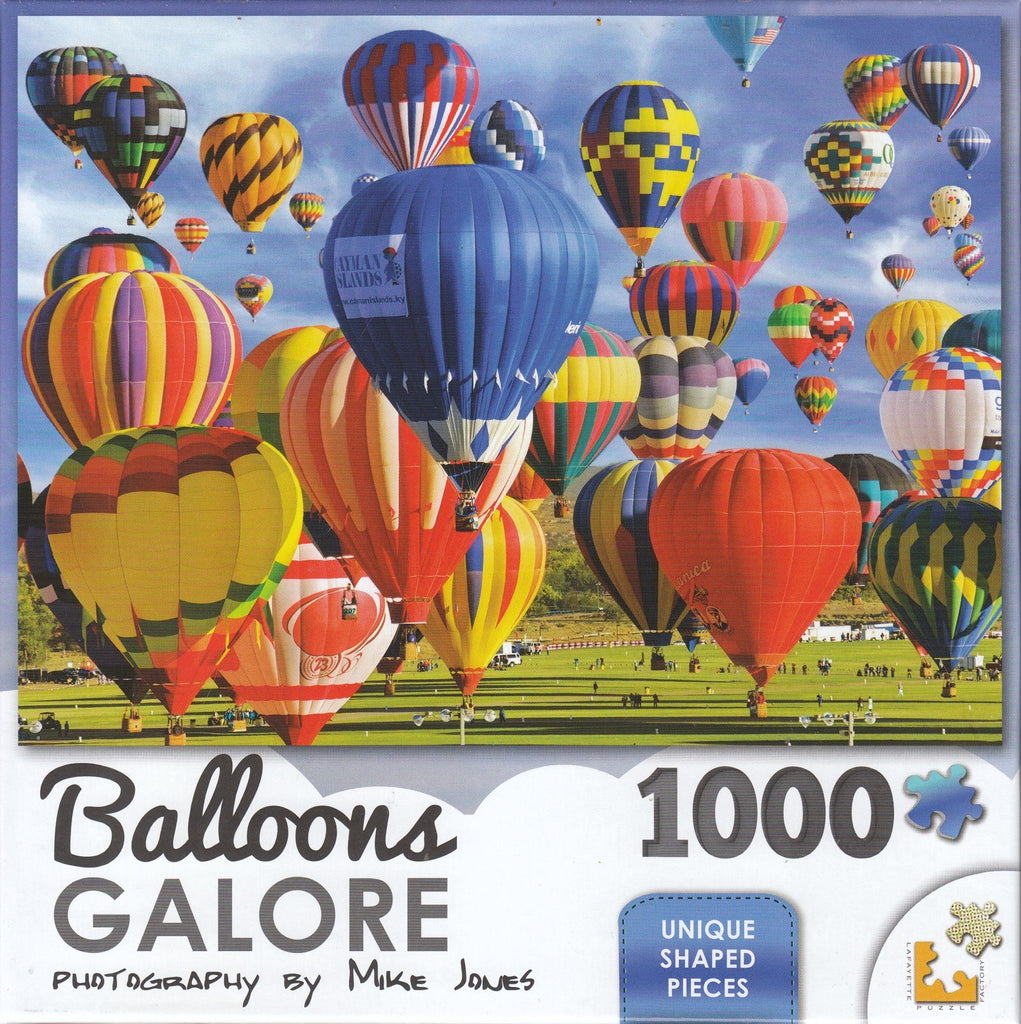 Balloons Galore 1000 Piece Puzzle - Up, Up And Away!