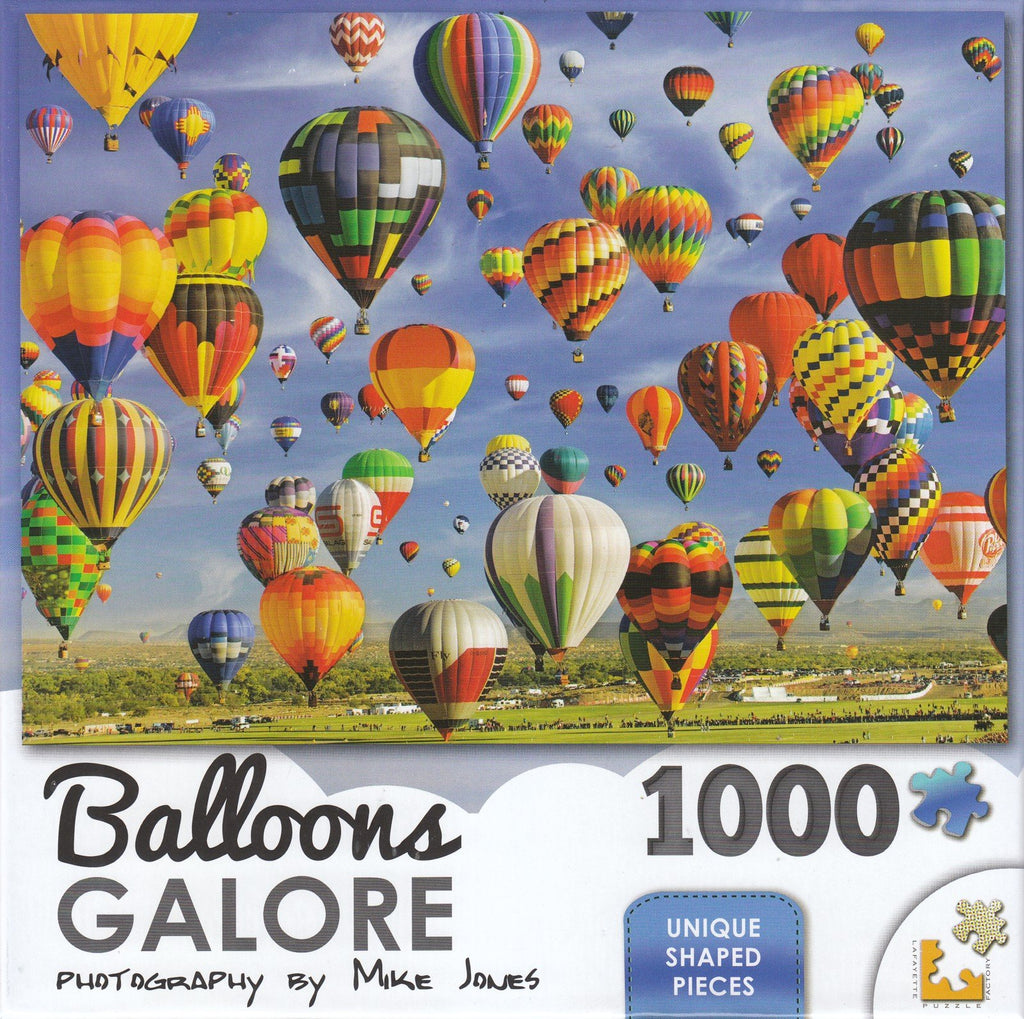 Balloons Galore 1000 Piece Puzzle - Mass Ascension