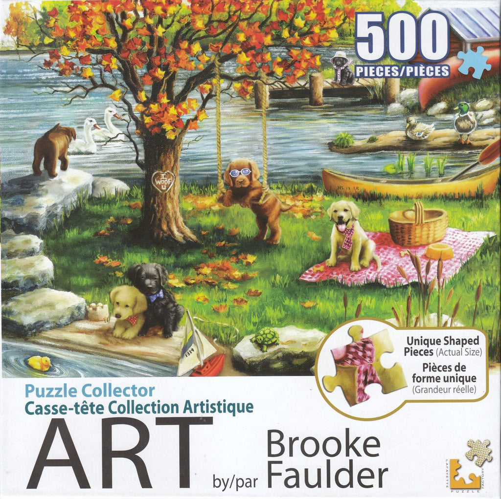 Puzzle Collector Art 500 Piece Puzzle - First Fall