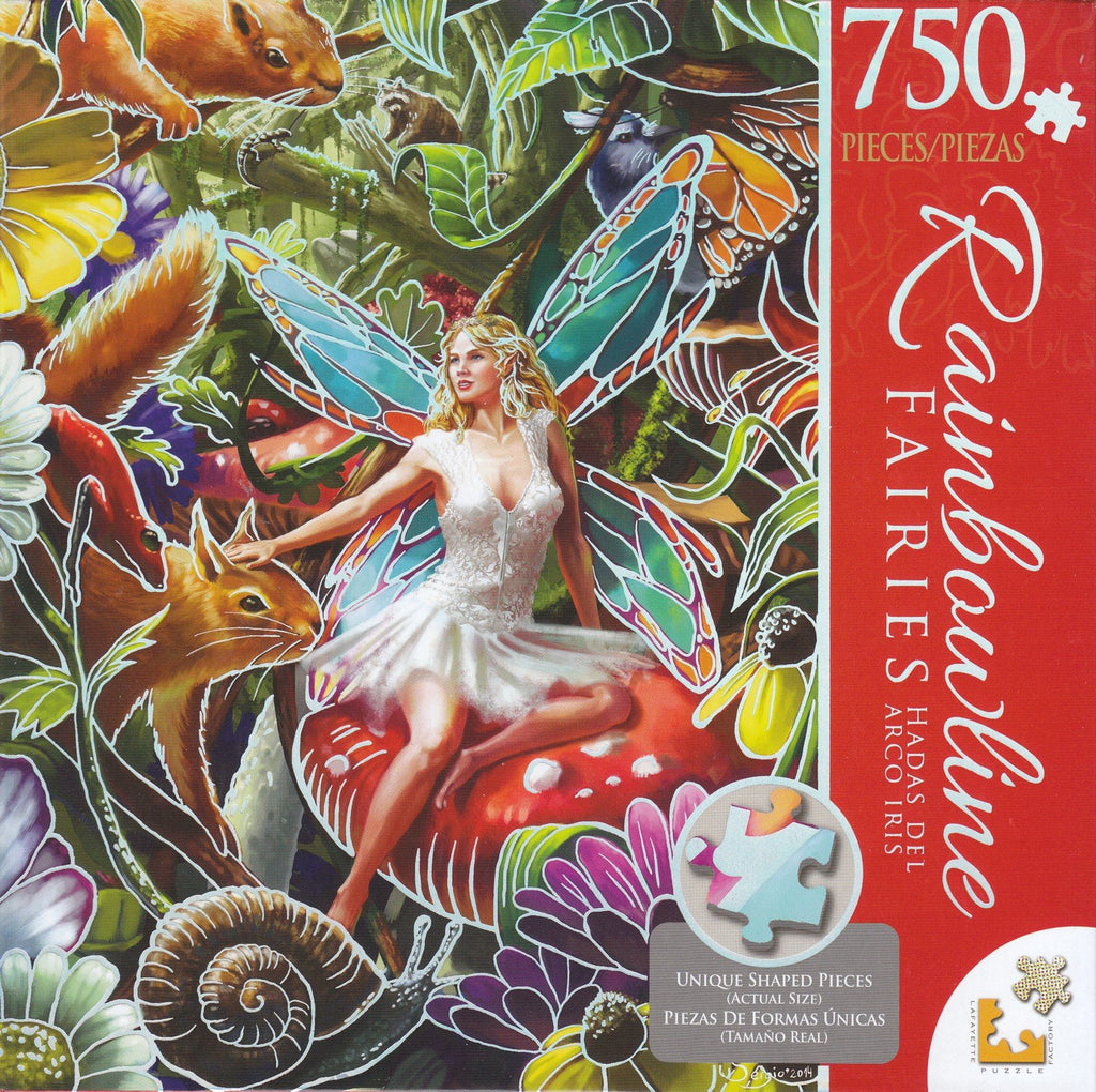 Summer Forest Fairy 750 Piece Puzzle