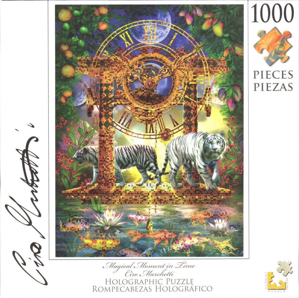 Holographic Puzzle Magical Moment in Time 1000 Pieces