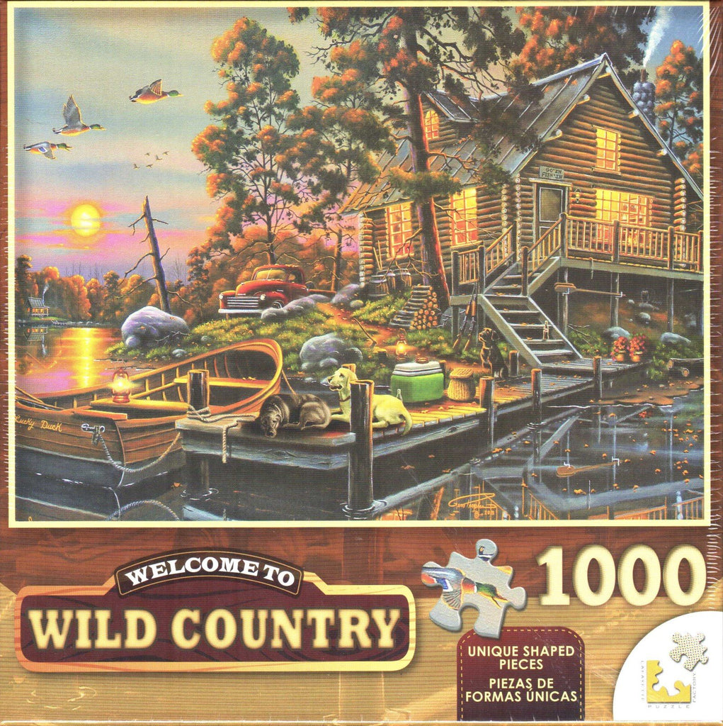 Wild Country 1000 Piece Puzzle - Duck Haven