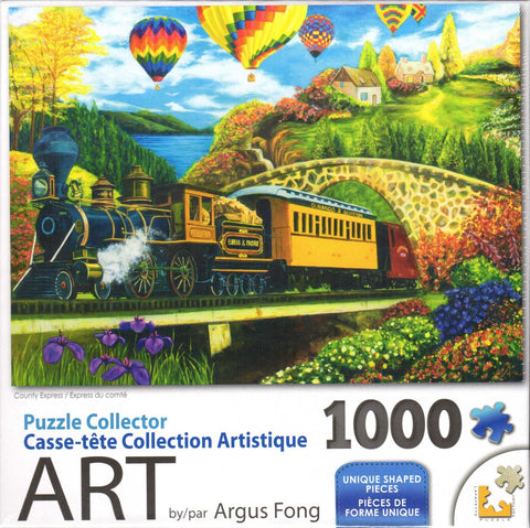 Puzzle Collector Art 1000 Piece Puzzle - County Express