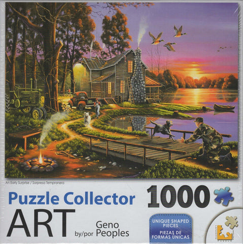 Puzzle Collector Art 1000 Piece Puzzle - An Early Surprise