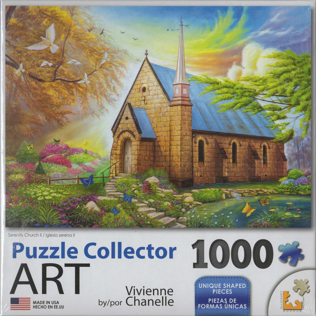 Puzzle Collector Art 1000 Piece Puzzle - Serenity Church II