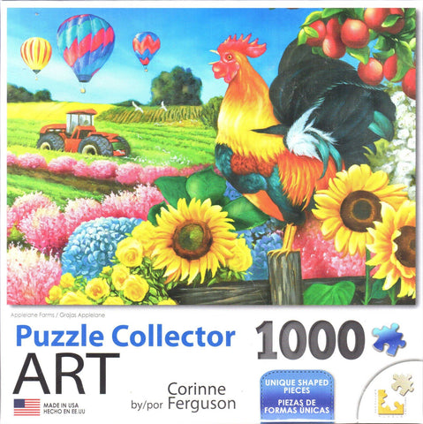 Puzzle Collector Art 1000 Piece Puzzle - Applelane Farms