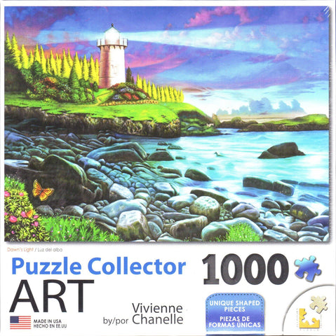 Puzzle Collector Art 1000 Piece Puzzle - Dawn's Light