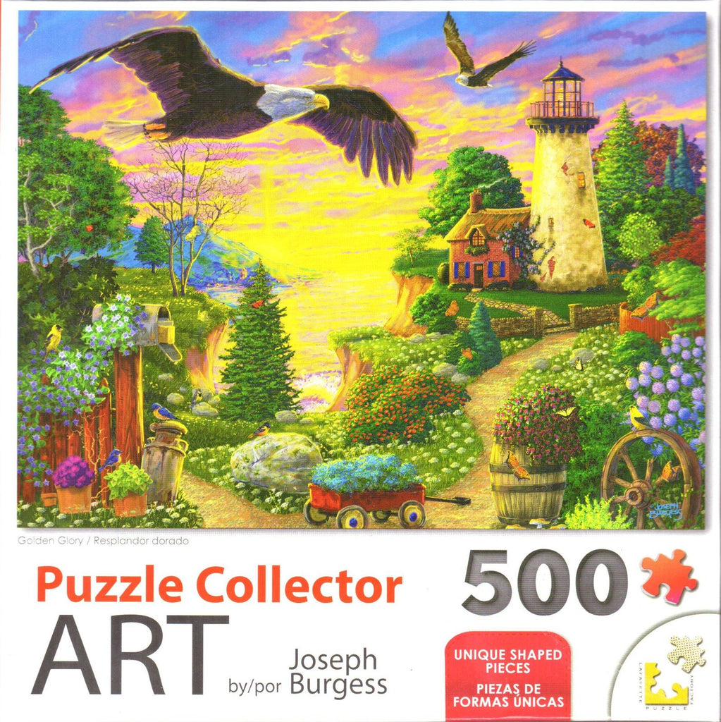 Puzzle Collector Art 500 Piece Puzzle - Golden Glory