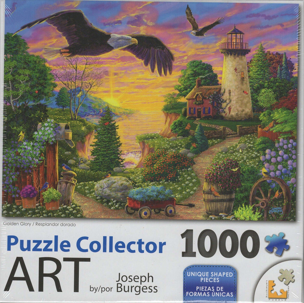 Puzzle Collector Art 1000 Piece Puzzle - Golden Glory
