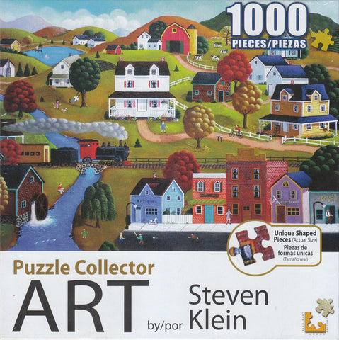 Puzzle Collector Art 1000 Piece Puzzle - Autumn Countryside