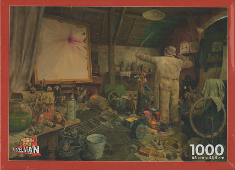 Puzzleman 1000 Piece Puzzle - Better Luck Next Time By Marius van Dokkum