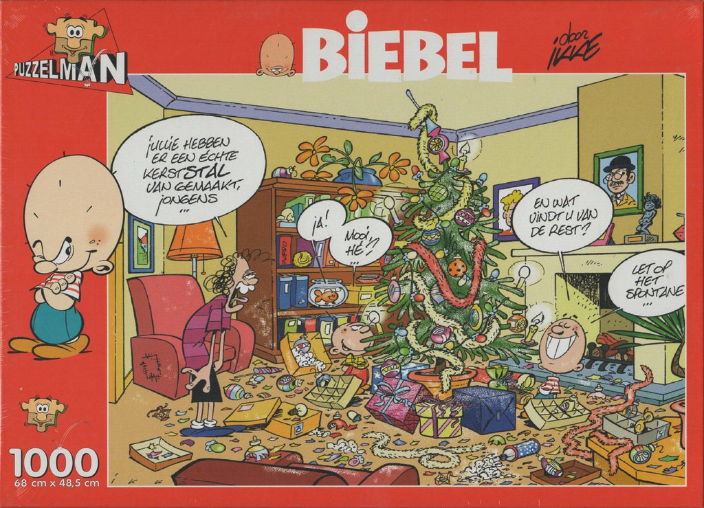 Puzzleman 1000 Piece Puzzle - Chriatmas By Biebel