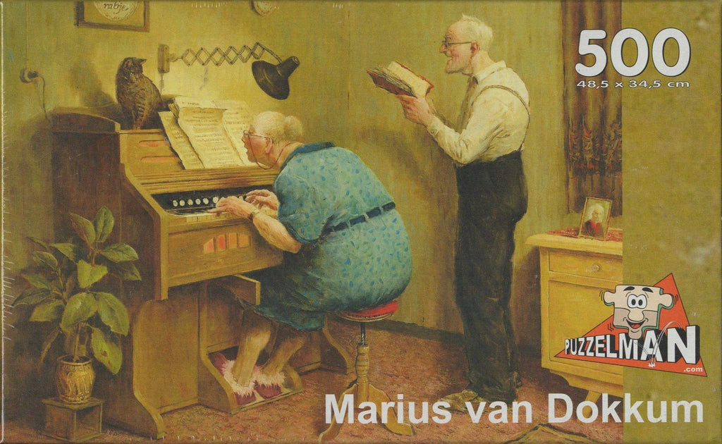 Puzzleman 500 Piece Puzzle - As the Old Sing By Marius van Dokkum