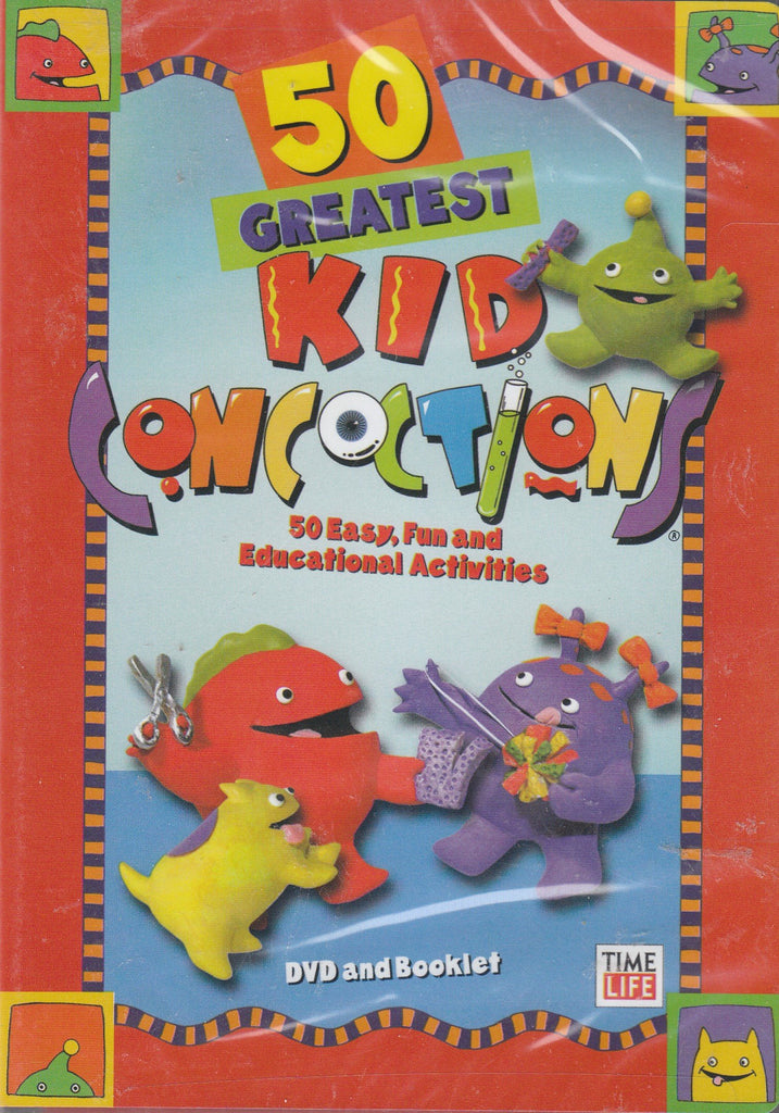 50 Greatest Kid Concoctions (DVD and Booklet)