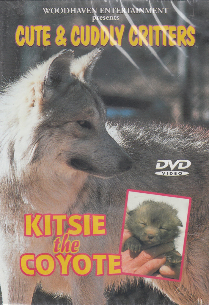 Cute & Cuddly Critters: Kitsie The Coyote