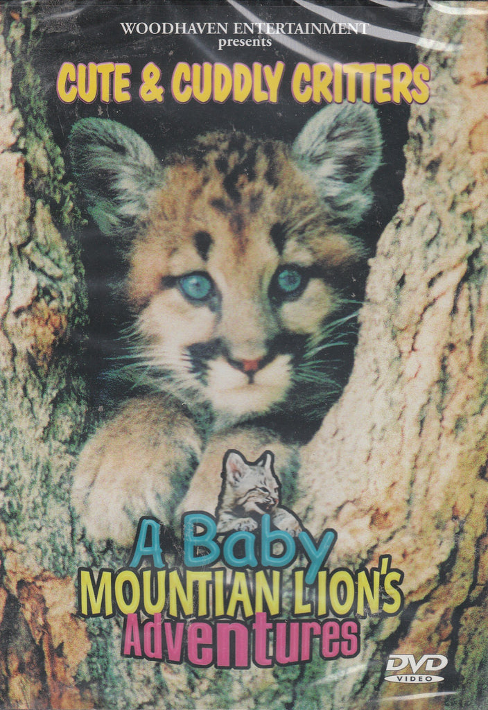 Cute & Cuddly Critters: A Baby Mountain Lion's Adventures