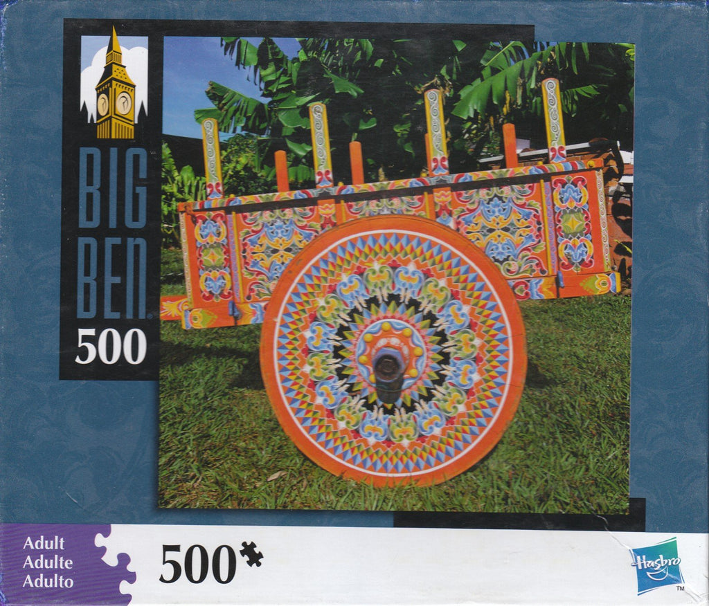 Colorful Cart 500 Piece Puzzle
