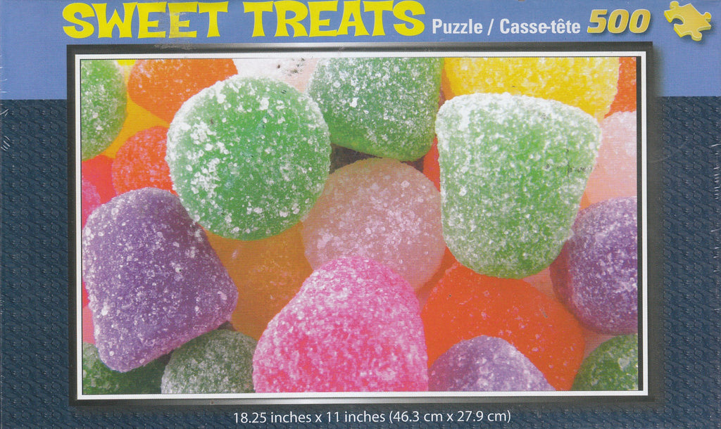Sweet Treats 500 Piece Puzzle