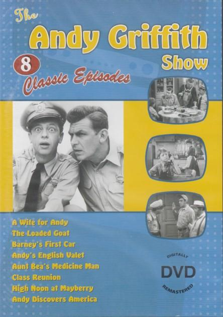 Andy Griffith Show - 8 Classic Episodes