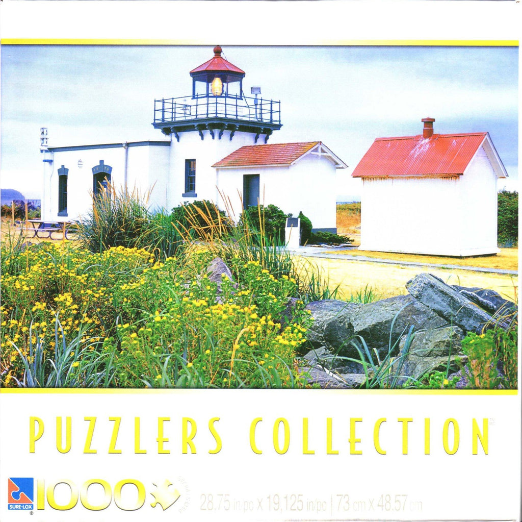 Point No Point Lighthouse 1000 Piece Puzzle