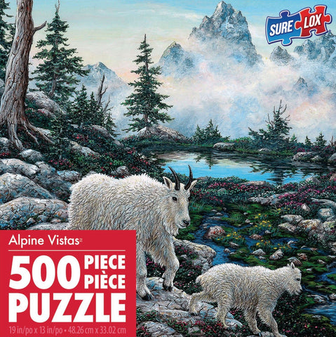 Alpine Country 500 Piece Puzzle