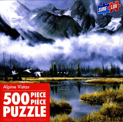 Alpine Majesty 500 Piece Puzzle
