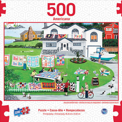 American Cat Lovers Special 500 Piece Puzzle