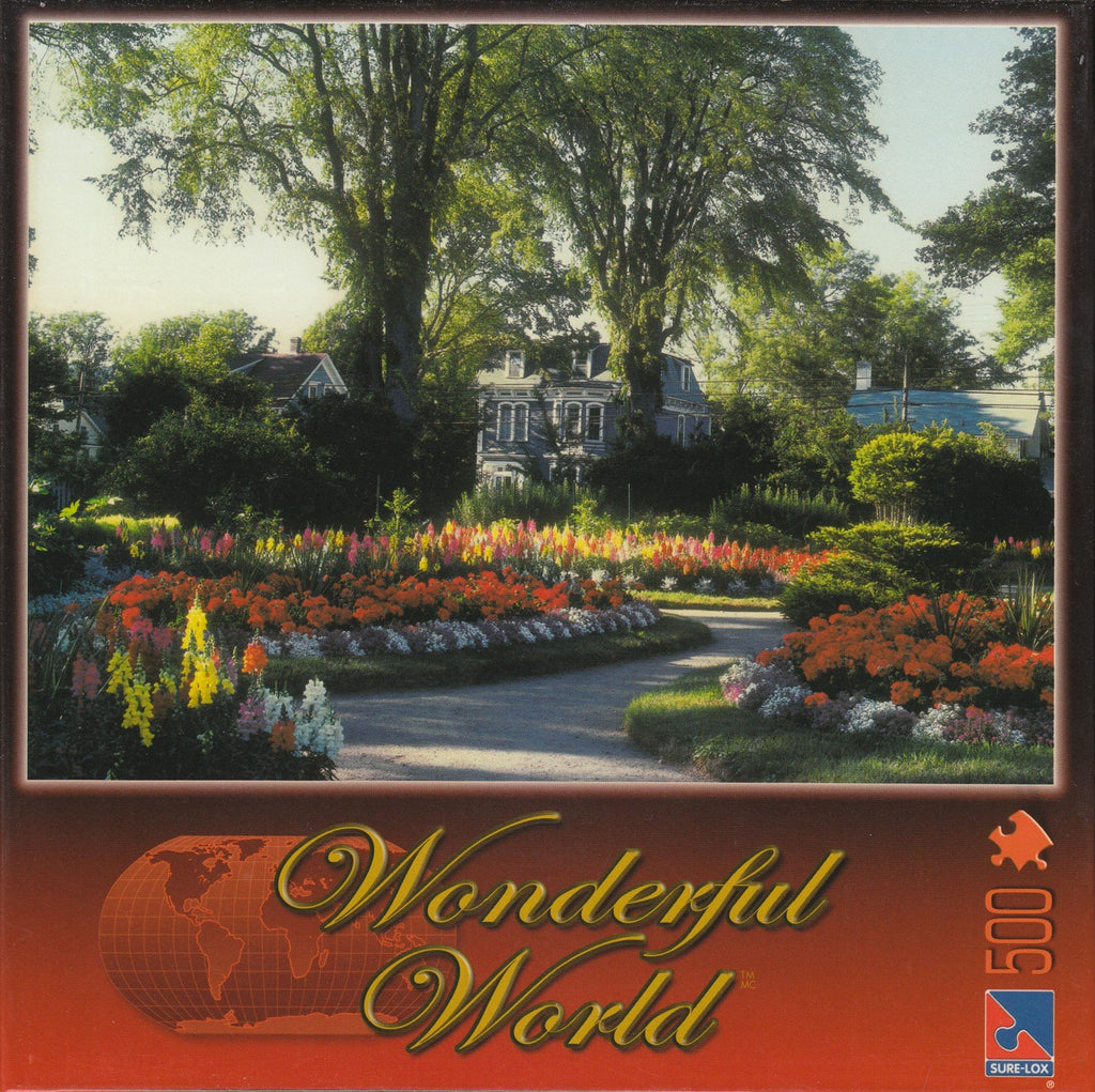 Historical Gardens 500 Piece Puzzle