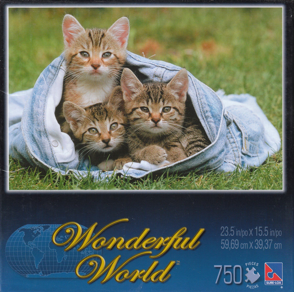 Cats in Jeans 750 Piece Puzzle