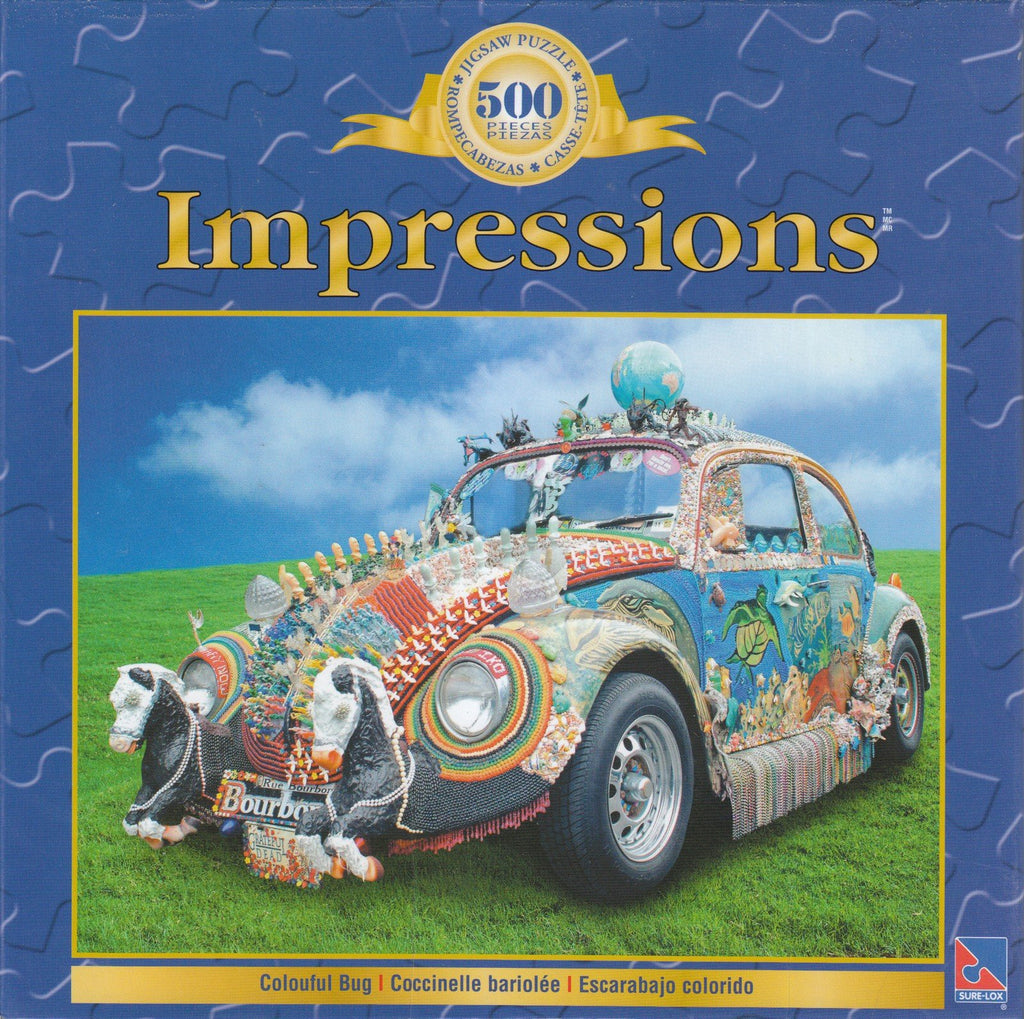 Colorful Bug 500 Piece Puzzle