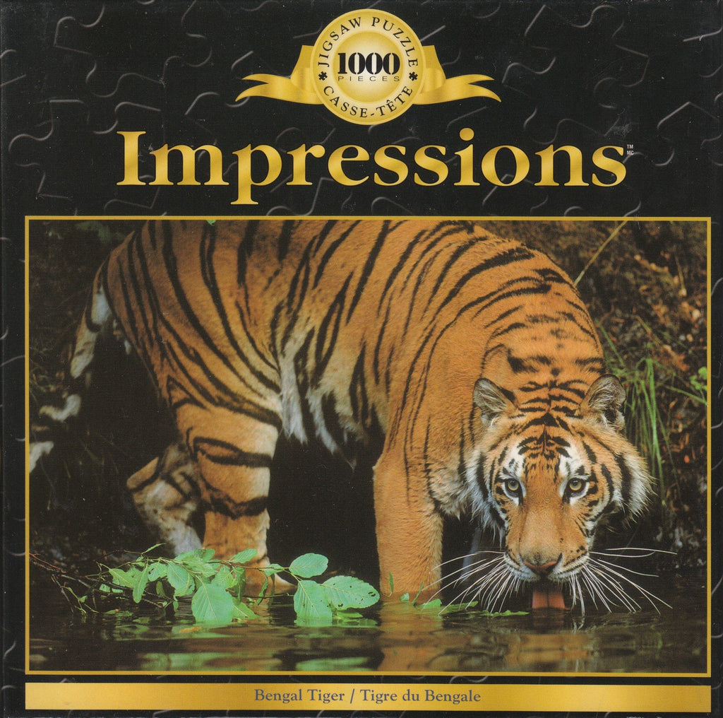 Bengal Tiger 1000 Piece Puzzle
