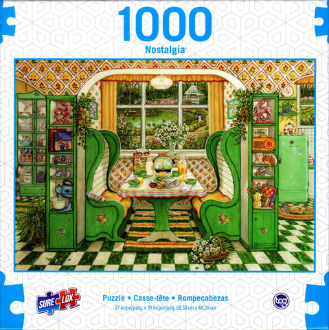 1940's Breakfast Nook 1000 Piece Puzzle