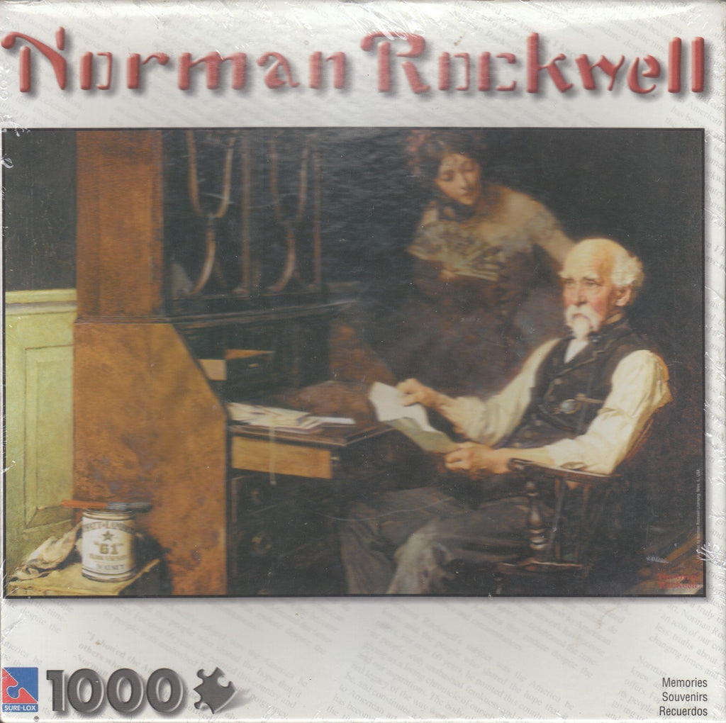 Memories - Norman Rockwell 1000 Piece Puzzle